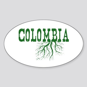 Colombia Roots Sticker (Oval)