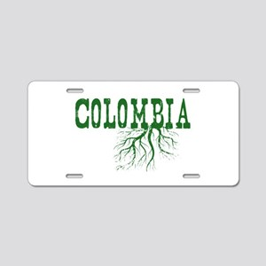 Colombia Roots Aluminum License Plate