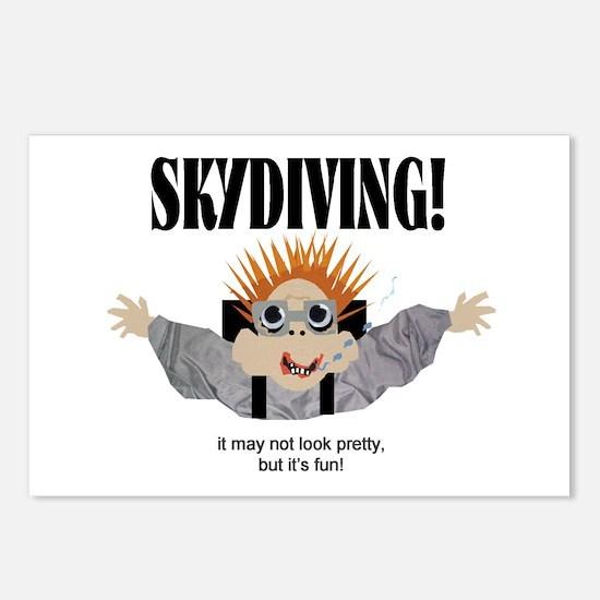 Skydiving Postcards (Package of 8)