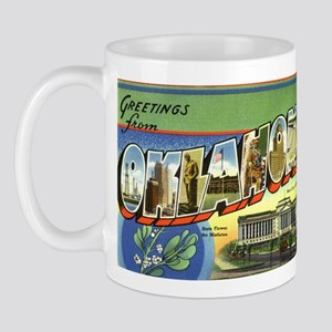 Greetings from Oklahoma Mug