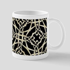 gold GEOMETRIC PATTERN Mugs