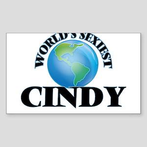 World's Sexiest Cindy Sticker