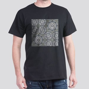 grey GEOMETRIC PATTERN T-Shirt