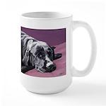 Black Labrador Beauty Sleep Large Mug
