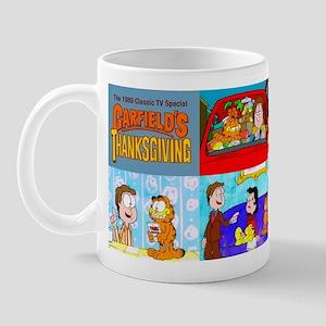 Garfield's Thanksgiving Mugs