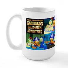 Garfield's Halloween Adventure Large Mugs