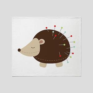 Pin Cushion Throw Blanket