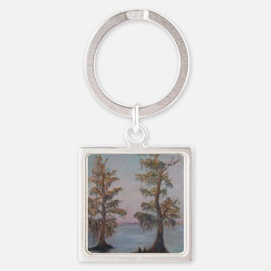 Cypress on the St. Johns River Keychains