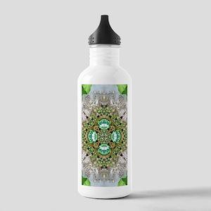 green diamond bling Stainless Water Bottle 1.0L