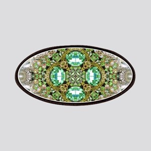 green diamond bling Patches