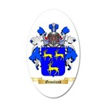 Gronlund 35x21 Oval Wall Decal