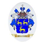 Gronbladh Ornament (Oval)