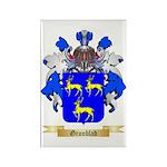 Gronblad Rectangle Magnet (10 pack)