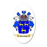 Gronblad 20x12 Oval Wall Decal