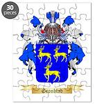 Gronblad Puzzle