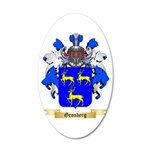 Gronberg 20x12 Oval Wall Decal