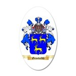 Gronbaldh 20x12 Oval Wall Decal