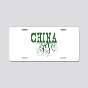 China Roots Aluminum License Plate