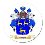 Grohne Round Car Magnet