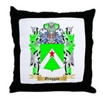 Groggan Throw Pillow