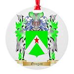 Grogan Round Ornament