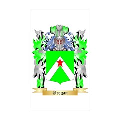 Grogan Sticker (Rectangle 10 pk)