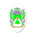 Grogan 35x21 Oval Wall Decal