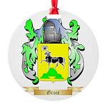 Groce Round Ornament