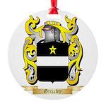 Grizzley Round Ornament
