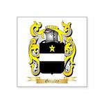 Grizzley Square Sticker 3