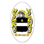 Grizzley Sticker (Oval 50 pk)