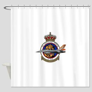 31sqn_f16_falcon Shower Curtain