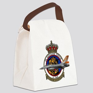31sqn_f16_falcon Canvas Lunch Bag