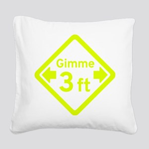 Gimee 3 ft Square Canvas Pillow