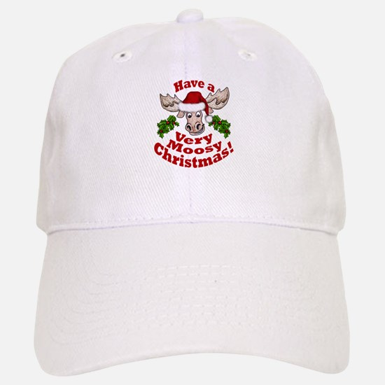 Moosy Christmas Baseball Baseball Baseball Cap