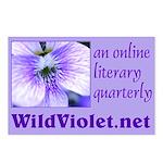 Wild Violet Postcards (Package of 8)