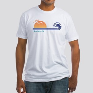 Big Sur California Fitted T-Shirt