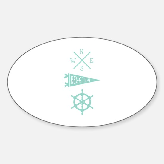 Compass Wheel Decal