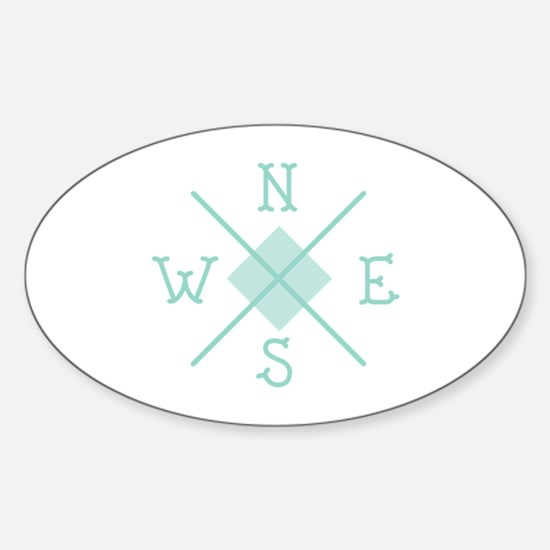 Compass West Decal