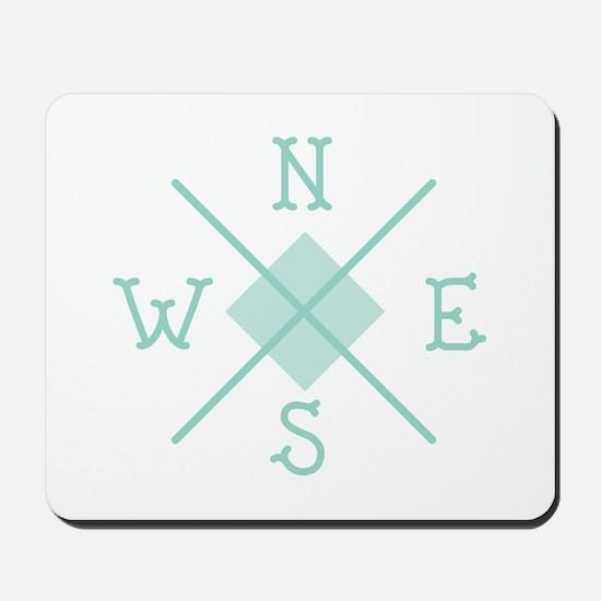 Compass West Mousepad