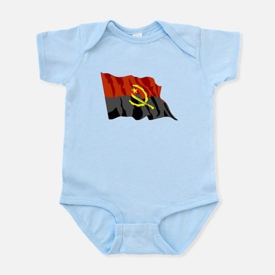 Angola Flag Body Suit