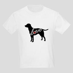 Labrador Love Kids Light T-Shirt