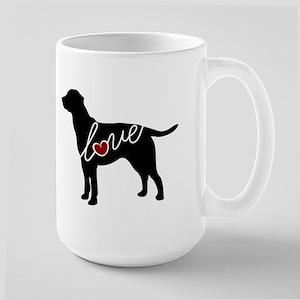 Labrador Love Large Mug
