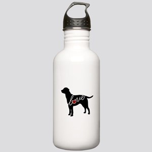 Labrador Love Stainless Water Bottle 1.0L