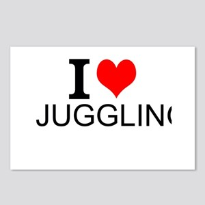 I Love Juggling Postcards (Package of 8)