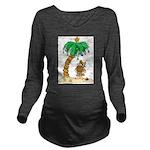 tree Long Sleeve Maternity T-Shirt