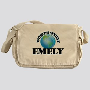 World's Sexiest Emely Messenger Bag