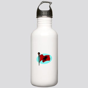 Albania Flag Water Bottle