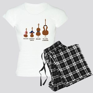 Funny Orchestra String Instruments Pajamas