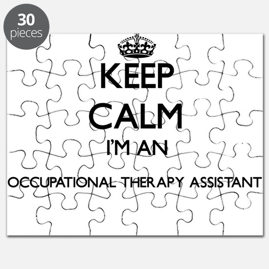 Keep calm I'm an Occupational Therapy Assis Puzzle